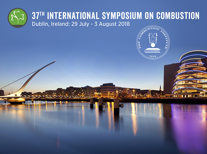 International symposium on combustion Dublin 2018
